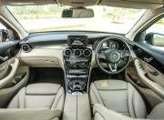 Mercedes Benz GLC 300 interior