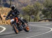 KTM 390 Duke image action front