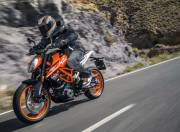 KTM 390 Duke image action front three quarter