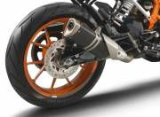 KTM 390 Duke image rear three quarter