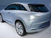 Hyundai FE Concept Fuel Cell Hydrogen vehicle Geneva 2017 Rear