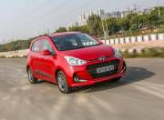 Hyundai Grand i10 front three quarter gal