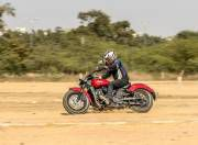 Indian Scout Sixty dynamic gal