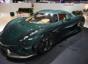 Koenigsegg Regera Carbon Green Paint