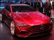Mercedes AMG GT Concept 4 door Front