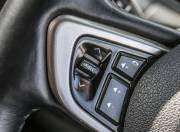 Tata Hexa steering mounted audio controls Gal