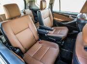 Toyota Innova Crysta rear seat space gal