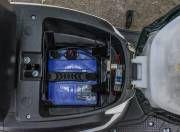Hero Nyx under seat storage space gal