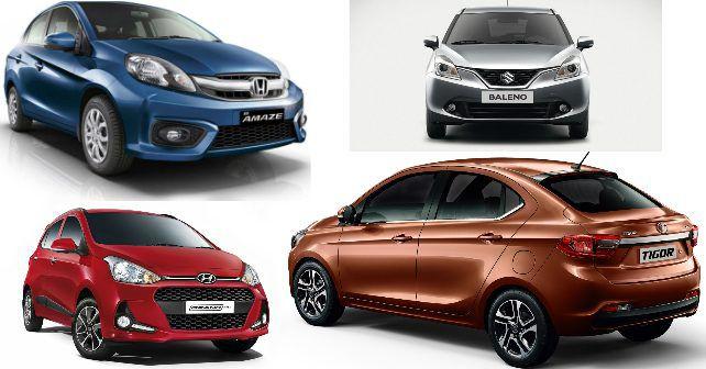 Tata Tigor Vs Hyundai Grand I10 Vs Maruti Suzuki Baleno Vs Honda