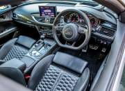 audi rs 7 performance interior shot