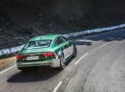 audi rs 7 performance rear dynamic action