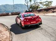 nissan gt r action rear