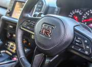 nissan gt r steering wheel shot