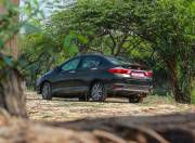 Honda City rear angle shot gal