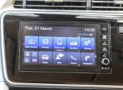 Honda City touchscreen infotainment system gal