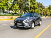 lexusrx450h front three quarter dynamic