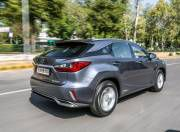 lexusrx450h lexusrx450h rear three quarter dynamic