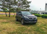 new ssangyong rexton front three quarter gallery