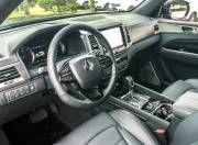 new ssangyong rexton interior steering wheel