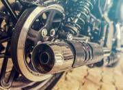 Harley Davidson Roadster exhaust system