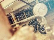 Harley Davidson Roadster front angle
