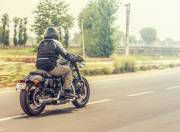Harley Davidson Roadster motion 2