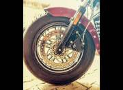 Indian Scout Sixty front wheel