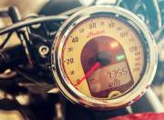 Indian Scout Sixty speedometer