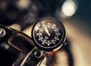Triumph Bonneville Bobber clock