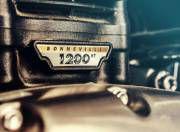 Triumph Bonneville Bobber engine