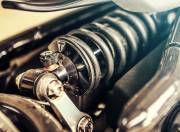 Triumph Bonneville Bobber rear monoshock
