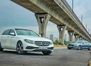 Mercedes Benz E Class vs Volvo S90 Gal