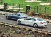 Mercedes Benz E Class vs Volvo S90 motion Gal