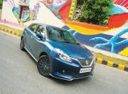 Maruti Suzuki Baleno RS front three quarter