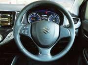 Maruti Suzuki Baleno steering wheel