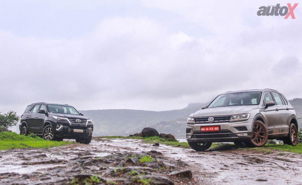 Toyota Fortuner vs Volkswagen Tiguan gal