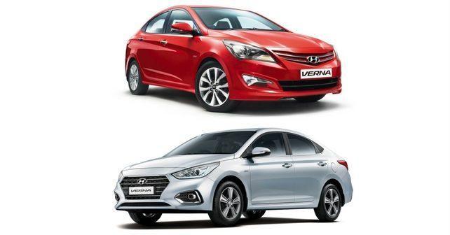 Hyundai Verna Old Vs New Autox