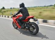 2017 Ducati SuperSport S Rear Motion