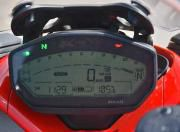 2017 Ducati SuperSport S instrument cluster