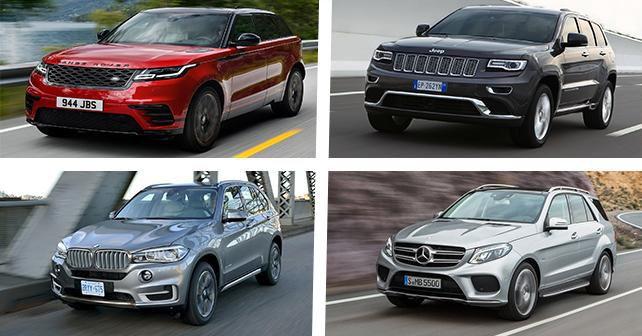 Tech Spec Comparison: Range Rover Velar Vs Mercedes Benz GLE Vs BMW X5 Vs Jeep  Grand Cherokee