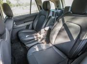 tata hexa rear seats gallery