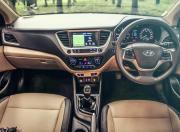 Hyundai Verna SX O CRDi dashboard gal