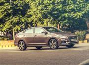 Hyundai Verna SX O CRDi front three quarter gal