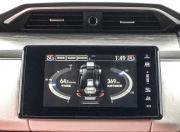 Honda Clarity Fuel Cell dashboard lcd gal