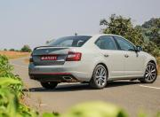 Skoda Octavia RS rear three quarter gal