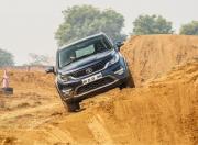 Tata Hexa XT AWD action gal