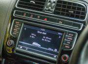 VW Polo GTI infotainment screen gal