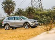 Volkswagen Tiguan front three quarter gal
