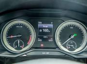 Skoda Superb instrument cluster