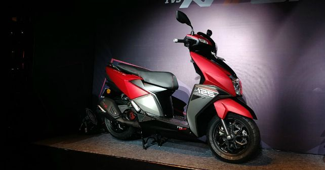 Tvs Ntorq 125cc Scooter Launched Autox
